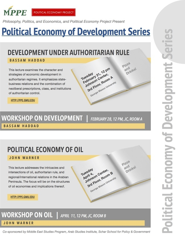 PPE Presents: The Political Economy of Development