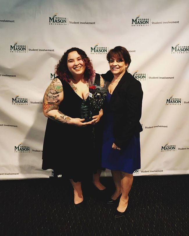 Mary Ann Vega - MAIS, Sociology and WGST Graduate Student Wins Dean's Challenge Award