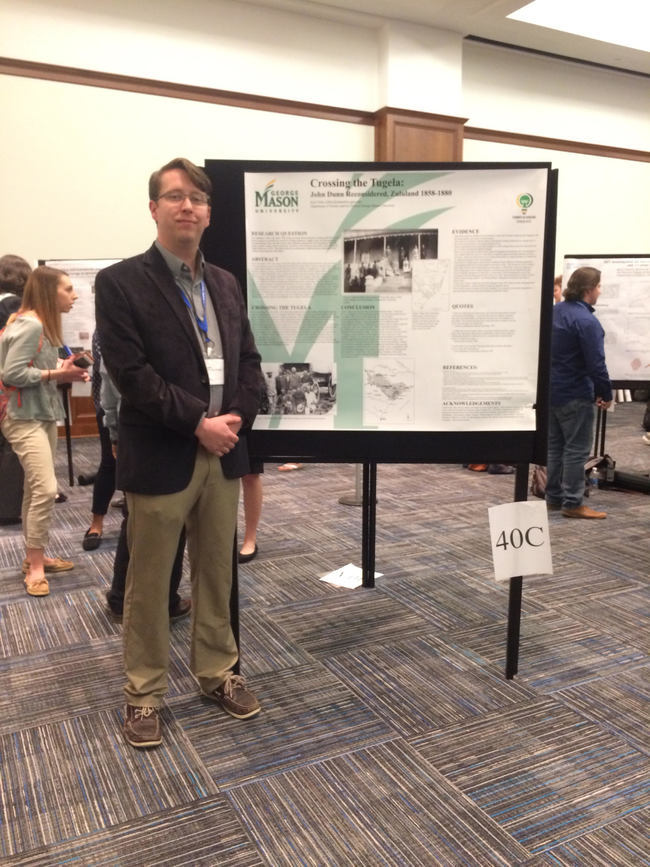 History Major Kyle Filter Presents Work at National Conference on Undergraduate Research