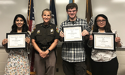 Three CLS Students Awarded Virginia Sheriff's Institute Scholarships
