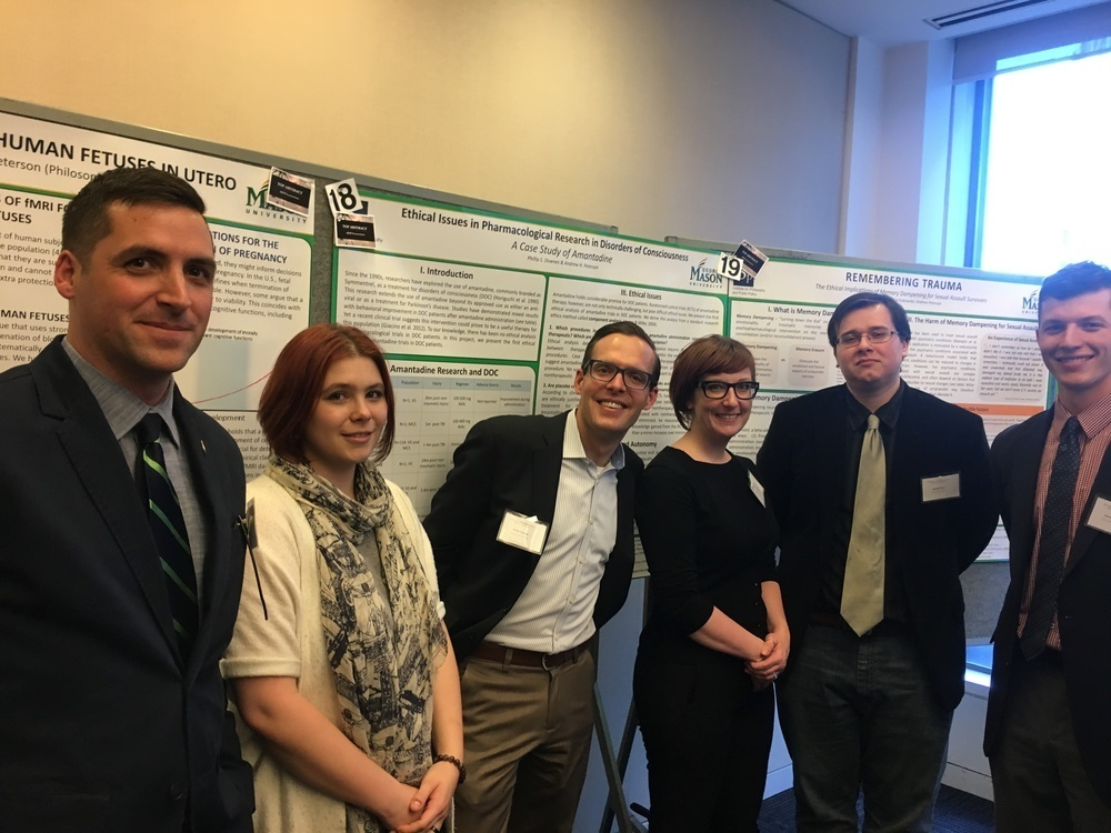Mason Students Present at the International Neuroethics Society