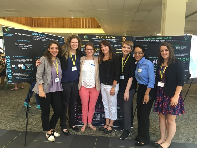Mason Undergrads Spend the Summer Doing Research in Prisons
