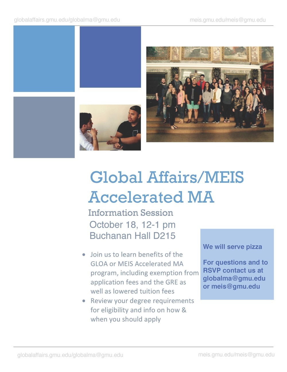 GLOA Accelerated Master's Information Session