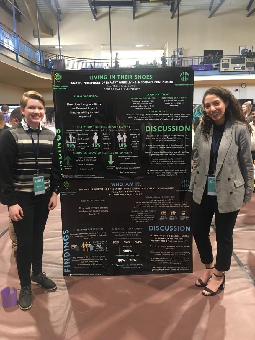 Students Present Research on Solitary Confinement at National Conference