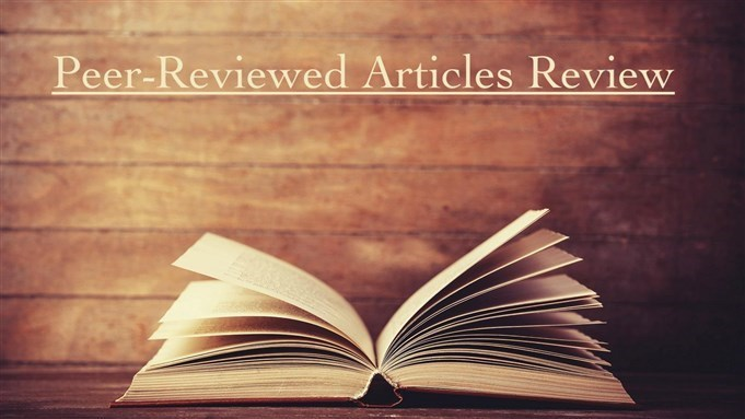 News: Peer-Reviewed Articles Review: Fall/Winter 2017/2018