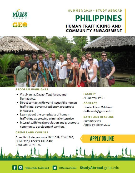 Summer Study Abroad Program in the Philippines with Dr. Fuertes