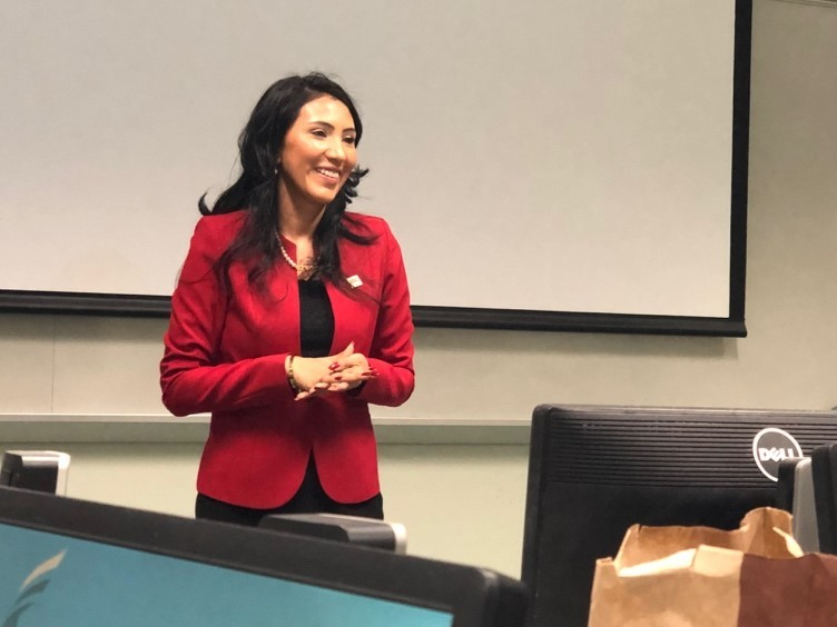 From Comm Student to Press Secretary: Mason alumna shares her rise to the top and advice for students