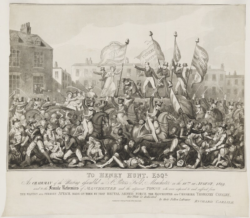 The 200th Anniversary of Peterloo and Shelley's Mask of Anarchy