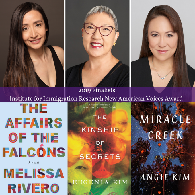 Fall for the Book & IIR Present: The Second Annual New American Voices Award