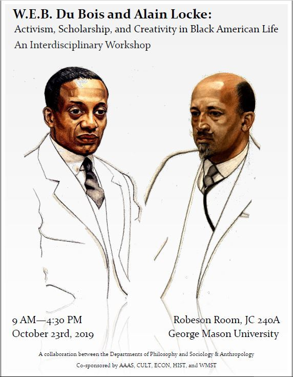 W.E.B. Du Bois and Alain Locke: Activism, Scholarship, and Creativity in Black American Life