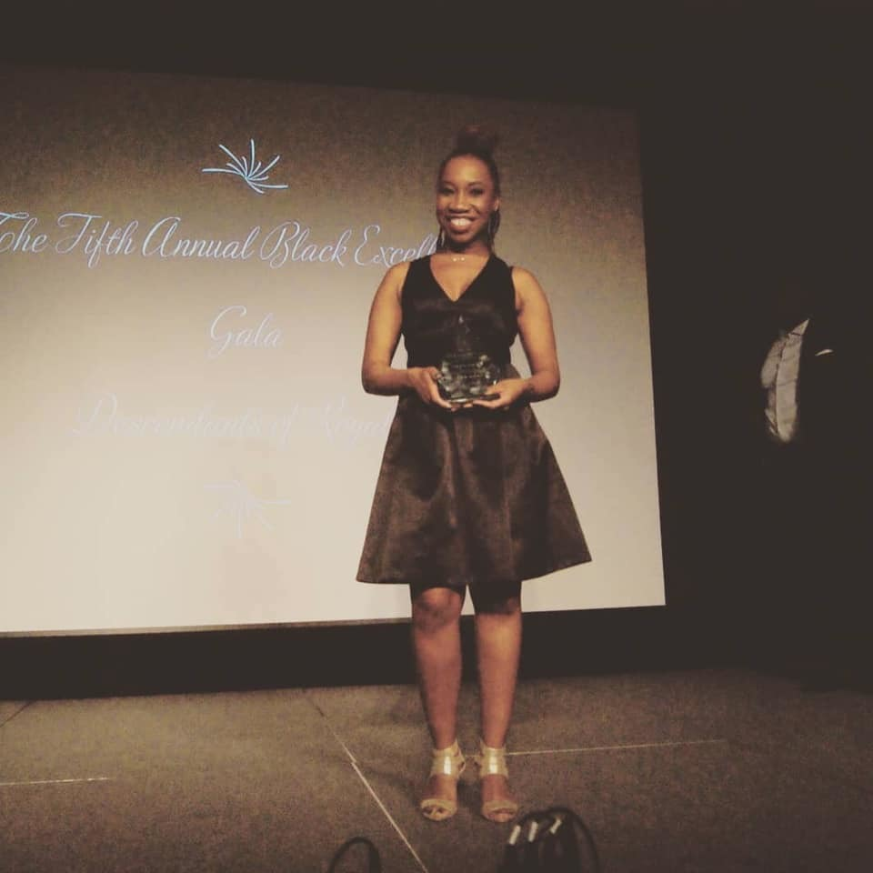 Student Shauna Rigaud Celebrated at Black Excellence Gala as Best Graduate Student