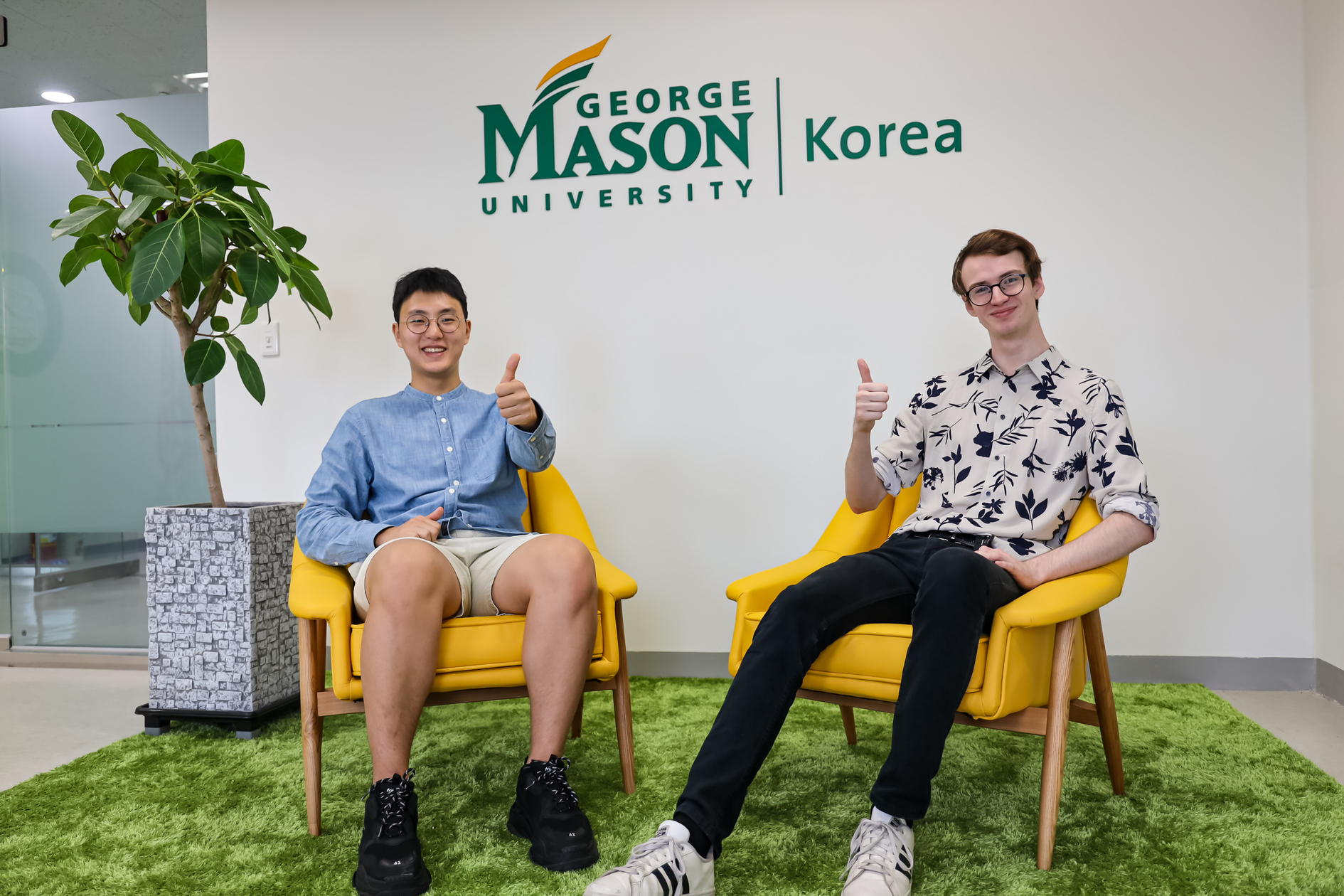 "A University Where Each Student is Heard: ""If you want to create your own path, Mason Korea is for you"""