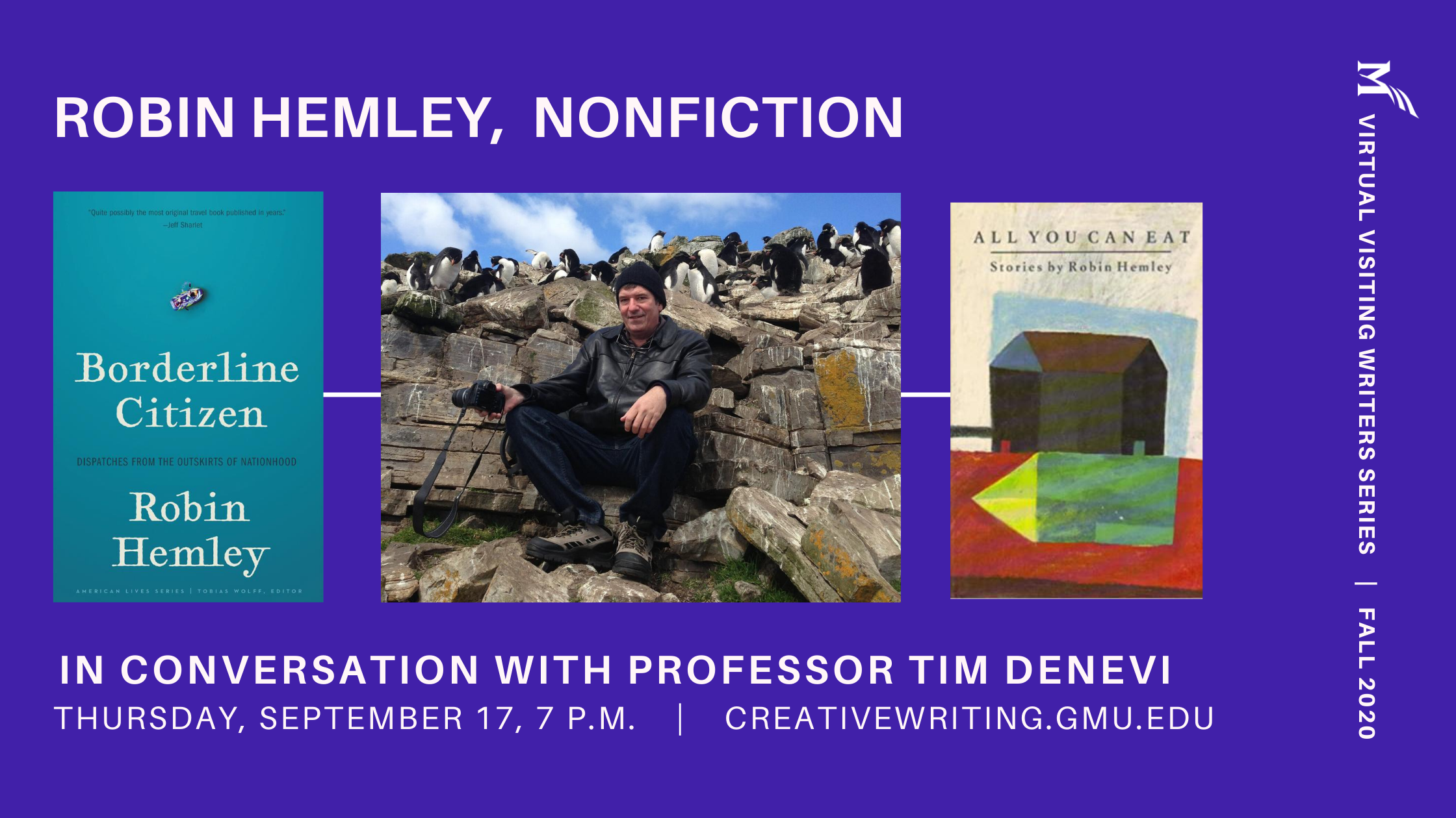 Visiting Writers Series Welcomes Robin Hemley