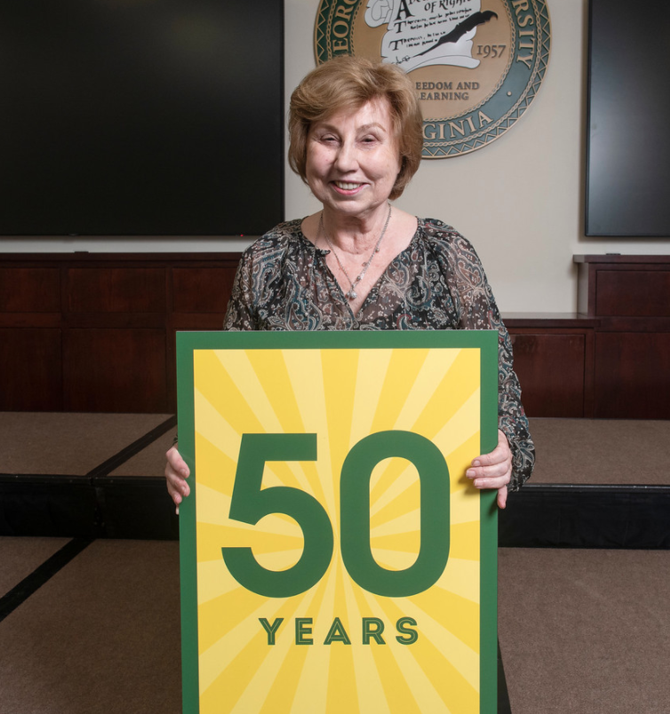 Opening Doors for Over 50 Years: Jane Flinn Notes a Milestone with George Mason University