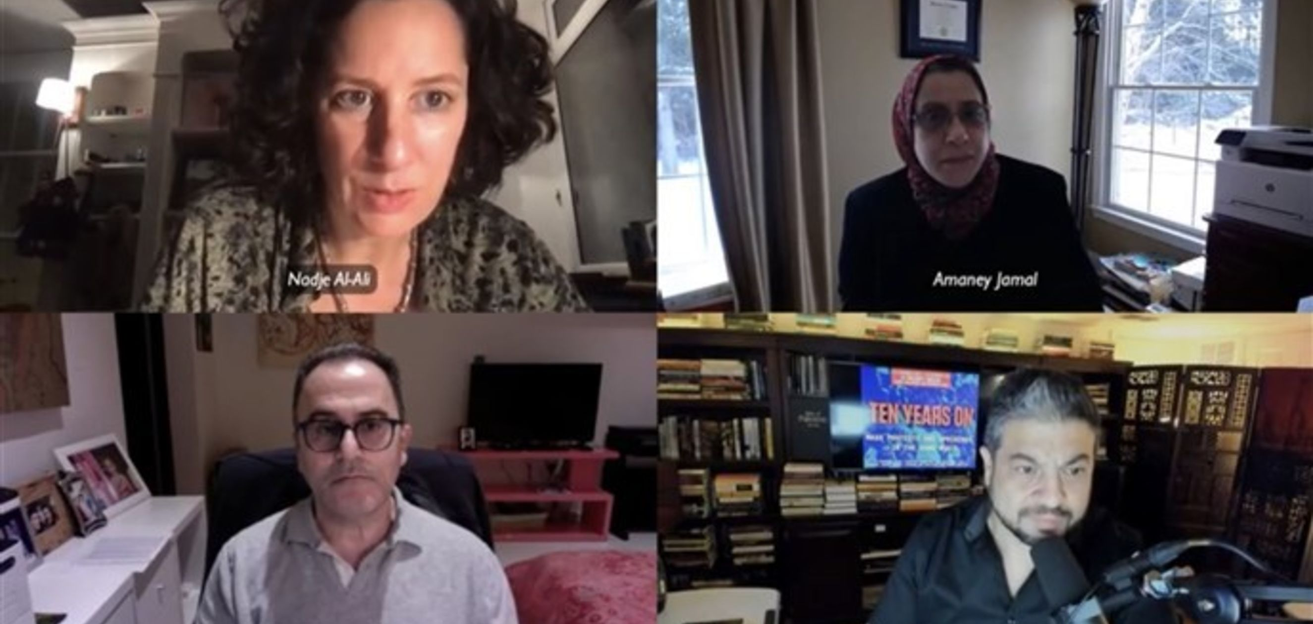 "Launching the One-Year-Long Project, ""Ten Years On: Mass Protests and Uprisings in the Arab World"" (Video)"
