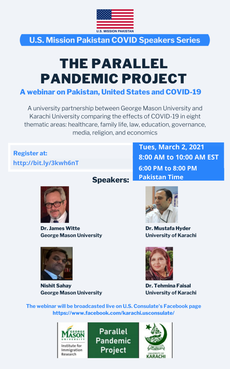 Parallel Pandemic project presentation on March 2nd