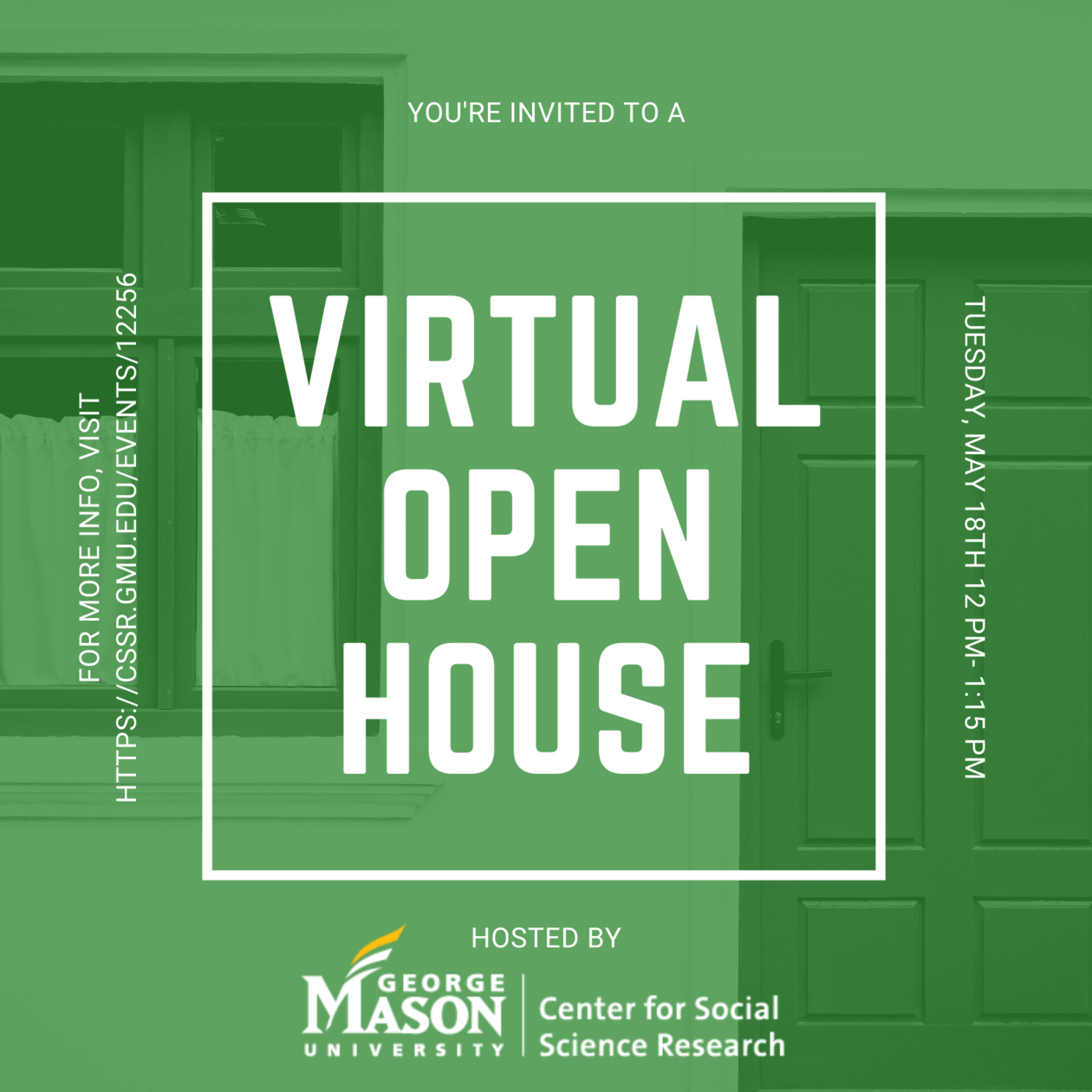 Center for Social Science Research Virtual Open House