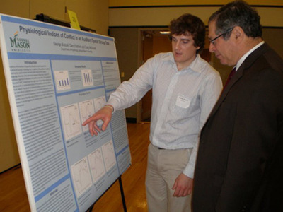 Students' Work on Display at Undergraduate Research Symposium