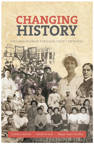 Prof. Kierner Co-Authors Book on Virginia Women