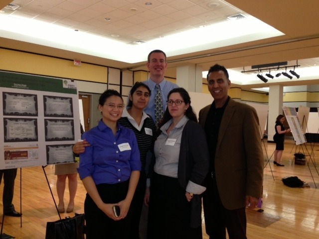 Global Affairs Students Present at Research Symposium