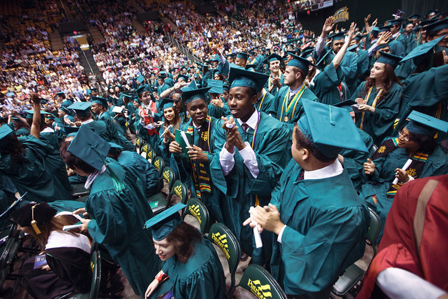 Nearly 2,700 Students Graduate at 2013 Convocations