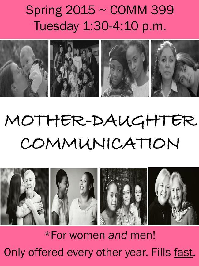 Dr. Carla L. Fisher to Teach Course in Mother-Daughter Communication