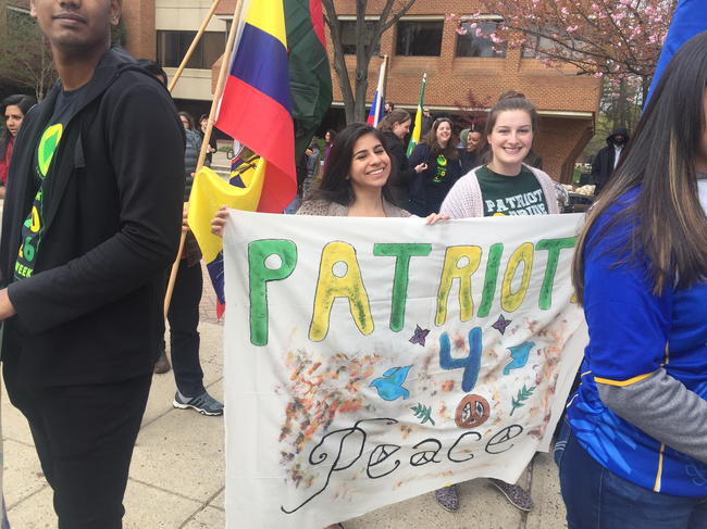 Global Affairs Student Co-Founds First US Institute for Peace Supported Student Group in the Country