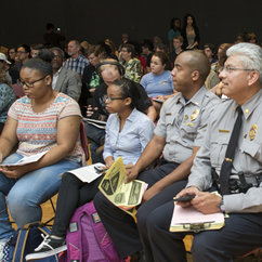 Forum features Mason, community leaders tackling tough questions about race