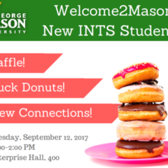 New SIS Student Welcome Event 9/12. Free Duck Donuts!