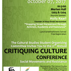 11th Annual Critiquing Culture Conference