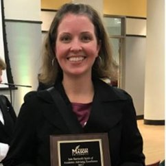 Erin McSherry, 2017 Spirit of Academic Advising Award Recipient