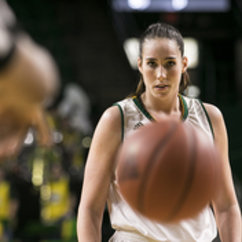 Butler Keeps Her Eye on the Ball in Games and in Life