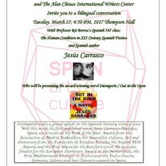 The Human Condition in XXI Century Spanish Fiction and Spanish author Jesús Carrasco