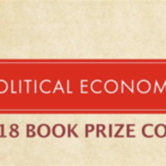 2018 Political Economy Book Prize Competition