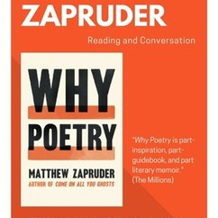 Poet Matthew Zapruder on 'Why Poetry,'
