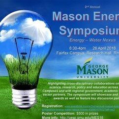 George Mason University's Center for Energy Science and Policy hosts 2nd annual Mason Energy Symposium