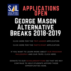 2018-2019 Alternative Breaks Applications Are Now Open!