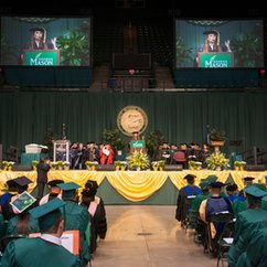 Turner, Mehlman-Orozco to address college's 2018 degree celebrations