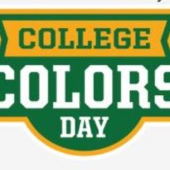 College Colors Day: Friday, August 31st