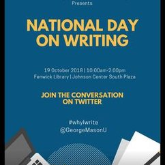 October 20th is the National Day on Writing