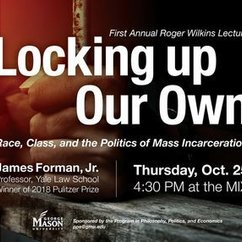 James Forman, Jr. gives Roger Wilkins Lecture