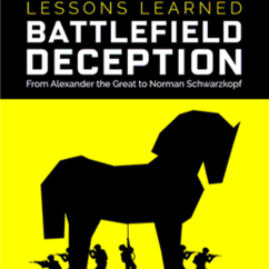 MA student publishes book on military deception