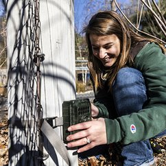 Wild DC: ESS student, Smithsonian scientist set up camera traps to study city wildlife