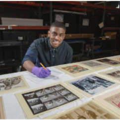 Hands-on History Profile:  Kye Farrow at the National Museum of African American History and Culture