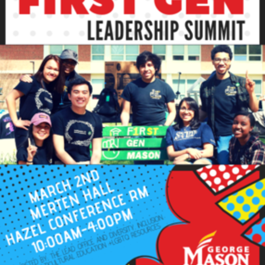 Mason First Gen Leadership Summit