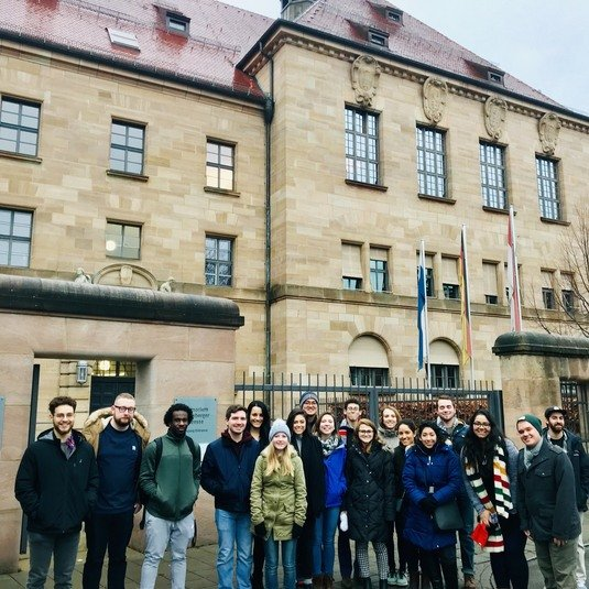 Students explore the rise of Nazi Party and Nuremberg Trials in study abroad program