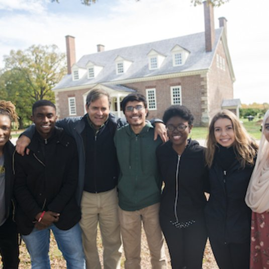 Enslaved Children of George Mason' project explores school's namesake