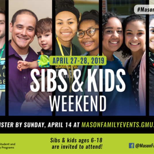 Sibs & Kids Weekend 2019