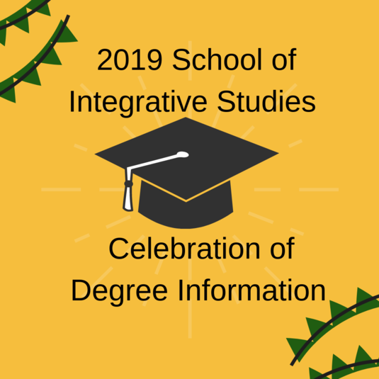 2019 SIS Degree Celebration Information
