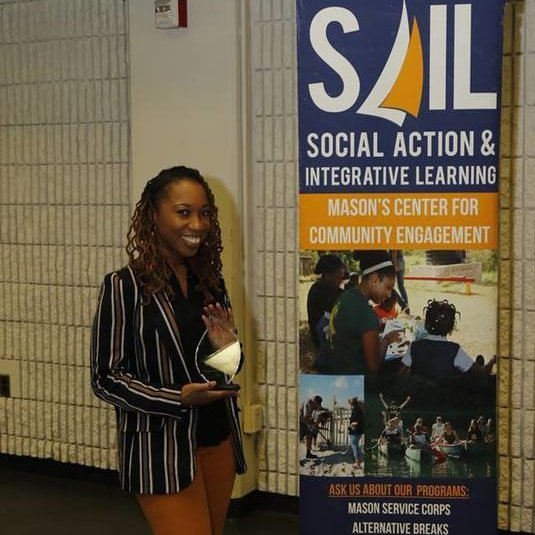 SAIL Community Based Learning Coordinator Shauna Rigaud Receives Dr. Julie Owen Award